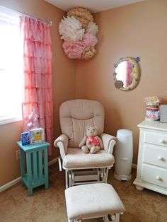 Avery Mae's Girly Nursery