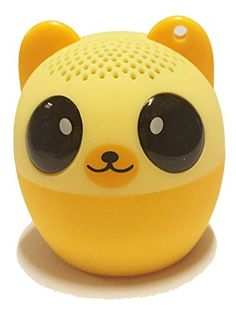 Zoogoez Mini Bluetooth Wireless Speaker Bouncy Bear -- Check out this great product. Bear Animal, Bluetooth Speakers, Phone Accessories, Shots, Amazon, Videos, Mini, Smileys, Riding Habit