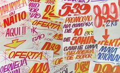 Oferta do Dia | Tipografia on Behance