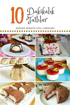 If you are thinking about iftara dessert recipes, if you give importance to the practical preparation in a short time, dessert recipes for iftar made in 10 minutes are here! Turkish Recipes, Italian Recipes, Iftar, Turkish Sweets, Turkish Kitchen, Yummy Food, Tasty, Fresh Fruits And Vegetables, Dessert Recipes
