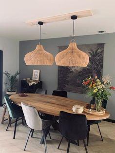 Home Decor Kitchen, Kitchen Living, Home Living Room, Living Room Decor, Room Interior, Interior Design Living Room, Interior Decorating, Bohemian Decorating, Dining Room Inspiration