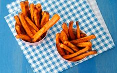 Cinnamon Sweet Potato Fries - for my little guy & his never ending sweet tooth!