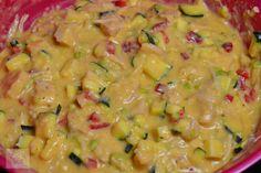 Chec aperitiv cu pui si legume - CAIETUL CU RETETE Guacamole, Mexican, Ethnic Recipes, Food, Meal, Essen, Hoods, Meals, Mexicans