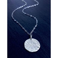 Moon Medallion Sterling Silver Necklace ($81) ❤ liked on Polyvore featuring jewelry, necklaces, sterling silver jewelry, sterling silver medallion, sterling silver necklace, sterling silver jewellery and medallion jewelry