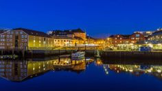 Visit Norway  A magical evening at Ravnkloa, waterfront in Trondheim, and departure point for the boats to historic Munkholmen Island. Photo by Sven-Erik Knoff/ FotoKnoff