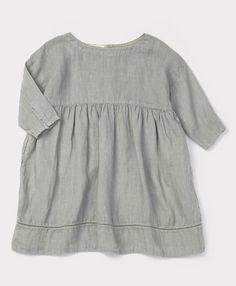 Cinnamon Dress, Misty Blue, 3y