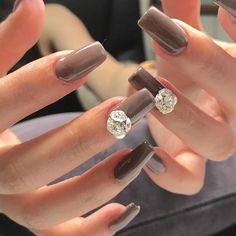 #nail # nails #tiptop都城|ネイルデザインを探すならネイル数No.1のネイルブック Kawaii Nails, Beauty Nails, Takano, Diamond Earrings, Nail Designs, Make Up, Polish, Nail Art, Engagement Rings