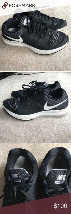 Size 7.5 Nike zoom Pegasus 31 black sneakers Size 7.5 Nike zoom Pegasus 31 black sneakers Nike Shoes Athletic Shoes
