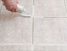 Learn how to clean grout or grout step by step