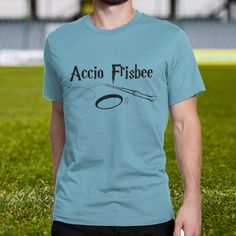 Ultimate Frisbee shirt, Accio Frisbee - Funny Harry Potter AND Ultimate Frisbee…