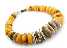 Collection of amber necklaces Danuta Burczik-Kruczkowska