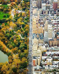 Нью-Йорк и Сентрал-Парк в черте NY