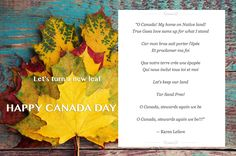 This Canada day let's turn a new leaf. Celebrate our beautiful country and our stewarding heritage with a little tweak to our National Anthem. :-D Have an amazing Canada Day! O Canada, Happy Canada Day, Climate Action, National Anthem, New Leaf, Climate Change, Country, Amazing, Fun
