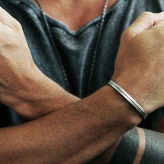 carpe diem silver mens bracelet