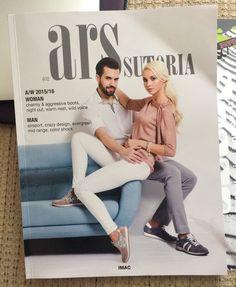 ARS Sutoria, Italian professional footwear publication, issue #402, April 2015 #fashion #footwear #shoe #style