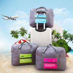 Travel Luggage Duffle Bag Lightweight Portable Handbag Aquarius Large Capacity Waterproof Foldable Storage Tote