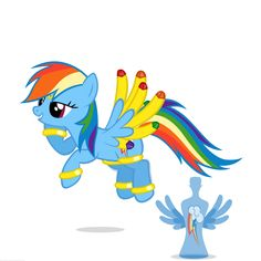 Genie Rainbow Dash by *NavitasErusSirus on deviantART <- I DO like her design!