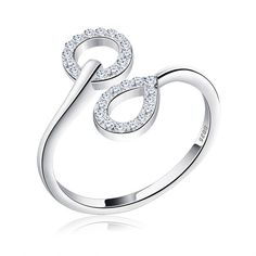 644a33c07e Orsa Jewels Unique Bridal Set 925 Sterling Silver Resizable Classic Rings  Fashion Band Propose Rings For