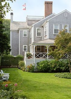 Nantucket. Love old style houses with lots of corners and shapes.
