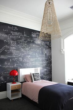 Chalkboard math wallpaper