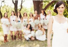 Perini Ranch Wedding | wedding party photo ideas | creative bridal photos | eephotome.com