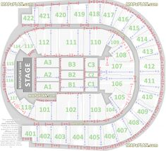The O2 Arena London seating plan Detailed seats rows and blocks numbers chart