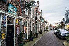 Calle típica de Edam – Edam y Volendam