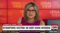 Ashleigh Banfield reads letter from Stanford rape survivor