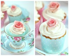 The TomKat Studio | Blog: Sweet Polka Dot Paper Baking Cups :: Cupcake Monday