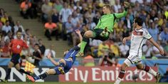 Las mejores imágenes del partido Argentina - Alemania > Alemania es campeón del mundo luego de ganarle a Argentina. Reviví la final de la Copa del Mundo en fotos. http://www.diarioveloz.com/c127700
