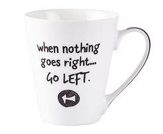 """Kubek """"Go left"""", poj. 300 ml"""