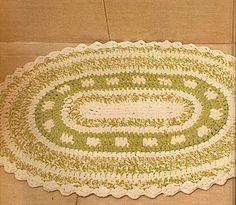 Tecendo Artes em Crochet: Tapete Oval com Gráfico!