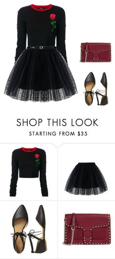 """""""Sem título #199"""" by caroltips ❤ liked on Polyvore featuring County Of Milan, Chicwish, Gap, Rebecca Minkoff and Yves Saint Laurent"""