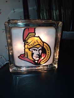 USC Trojans lighted glass block.  Check out my custom made lighted glass blocks at my Etsy store IrwinRags!https://www.etsy.com/shop/IrwinRags
