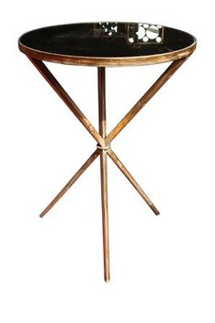 Antique Gold Kelly Side Table