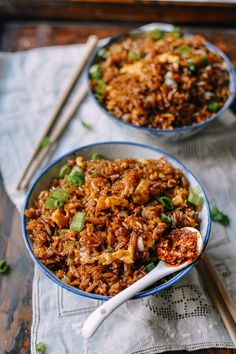 King Soy Sauce Fried Rice recipe, by thewoksoflife.com