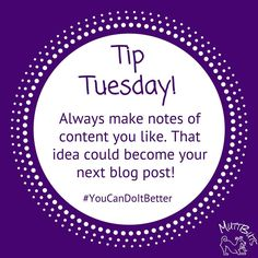 Do NOT copy or imitate! Get ideas & do it better. You know you can I know you can! http://ift.tt/2kOLgqA #MuttButs #TipTuesday #MuttPic