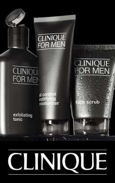 Great skin for him in three steps. I bought this for my husband and even though he was reluctant at first, he loves it now. It's a great product, highly recommend it.