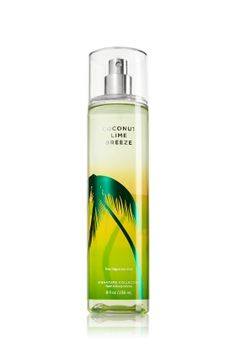 Coconut Lime Breeze - Bath and Body Works - Tropical with a twist! Coconut Lime Breeze is a fresh mix of coconut water & lime blossom.  •Top Notes: Sparkling Tangerine, Lemon Italy Orpur, Neroli, Bergamot Italia Orpur, Zesty Lime Juice •Mid Notes: Watery Melon notes, Sheer Muget, Pineapple Juice, Jasmine Petals, Lime Blossom •Dry Notes: Sheer Coconut Water, Sandalwood, Musk, Madagascar Vanilla