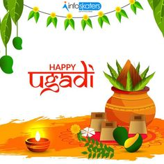 The raw mangoes, neem, and jaggery represent the sweet, sour and bitter flavors of life. May the flavors of Ugadi fill your life in the coming year! Veg Thali, Indian Grocery Store, Jain Recipes, Plant Crafts, Biryani, Wish, Joy, Pure Products, Birthday