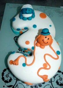Gâteau M. Chatouille et M. Maladroit lol