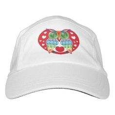 Colorful Owl Love Hat - love gifts cyo personalize diy