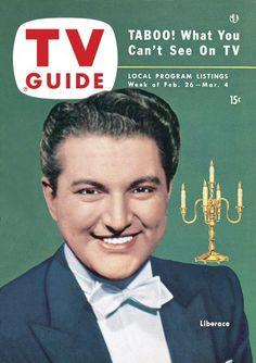 TV Guide, February 26, 1954 - Liberace