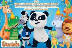 Convite digital personalizado Canal Panda 006
