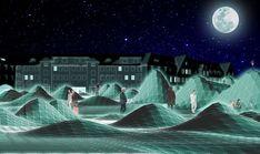 undulating surface for pilsudski's square competition poland - designboom | architecture