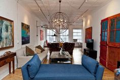 Retreat from city hustle and bustle with a beautiful urban loft.
