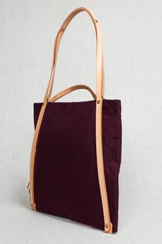 Everyday Bag in Wine