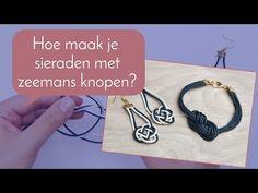 Bekijk dit #filmpje en leer hoe je #oorbellen en #armbanden maakt met een #zeemans #knoop #earrings #bracelets #iedere #vrijdag posten wij een nieuw #filmpje