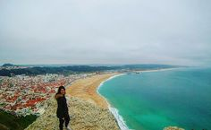 """Possibly my new favourite spot in the world. #amazing #nazare #portugal #surf #biggestwaves #travel #traveling #socialenvy #shopstemdesigns #vacation #visiting #instatravel #instago #instagood #trip #holiday #photooftheday #fun #travelling #tourist #instapassport #instatraveling #mytravelgram #travelgram #travelingram #igtravel"" by (vanessa.2591). instapassport #socialenvy #instatravel #instagood #surf #trip #shopstemdesigns #instago #biggestwaves #holiday #travelling #travelgram #vacation…"