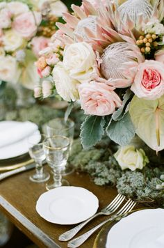 Romantic Italian Florals by Bo Boutique Flowers | photography by Buffy Dekmar